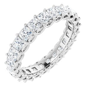 14K White 2 1/6 CTW Diamond Eternity Band