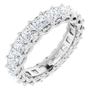 14K White 3 1/5 CTW Diamond Eternity Band
