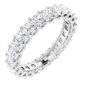 Platinum 2 1/4 CTW Diamond Eternity Band