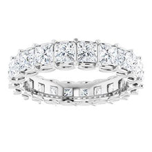 Load image into Gallery viewer, 14K White 3 1/5 CTW Diamond Eternity Band