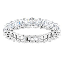 Load image into Gallery viewer, 14K White 2 3/8 CTW Diamond Eternity Band