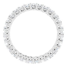 Load image into Gallery viewer, Platinum 1 1/2 CTW Diamond Eternity Band
