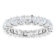 Load image into Gallery viewer, Platinum 3 1/3 CTW Diamond Eternity Band