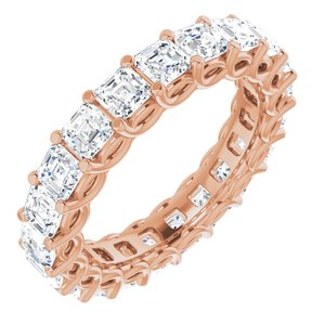 14K Rose 3 1/3 CTW Diamond Eternity Band