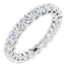 Load image into Gallery viewer, Platinum 2 1/8 CTW Diamond Eternity Band