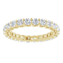 Load image into Gallery viewer, 14K Yellow 2 1/5 CTW Diamond Eternity Band