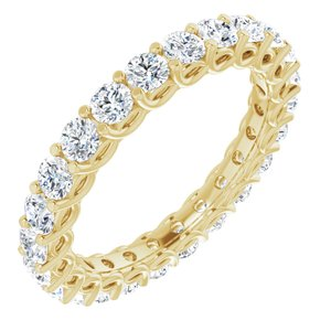 14K Yellow 2 1/5 CTW Diamond Eternity Band