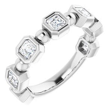 Load image into Gallery viewer, Platinum 1 1/8 CTW Diamond Anniversary Band