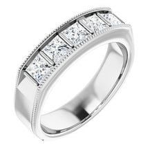 Load image into Gallery viewer, 14K White 1 3/8 CTW Diamond Men's Ring
