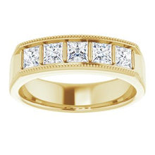 Load image into Gallery viewer, 14K Yellow 1 1/4 CTW Diamond Men's Ring