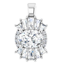 Load image into Gallery viewer, Platinum 1 CTW Diamond Pendant