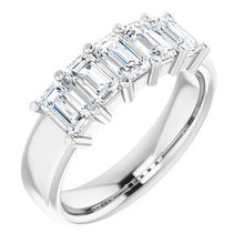 Load image into Gallery viewer, 14K White 1 5/8 CTW Diamond Anniversary Band