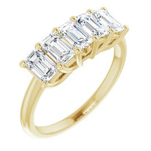 Load image into Gallery viewer, 14K Yellow 1 5/8 CTW Set Anniversary Band