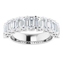 Load image into Gallery viewer, 14K White 4 CTW Diamond Anniversary Band