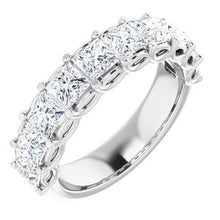 Load image into Gallery viewer, 14K White 2 1/2 CTW Diamond Anniversary Band