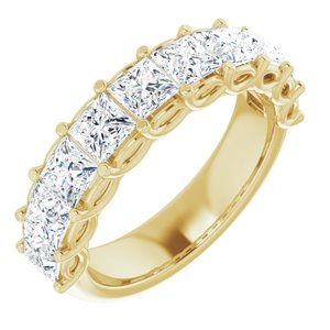14K Yellow 2 1/2 CTW Diamond Anniversary Band