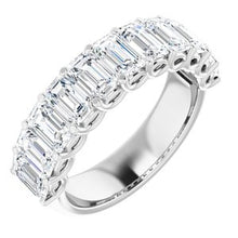 Load image into Gallery viewer, Platinum 4 CTW Diamond Anniversary Band