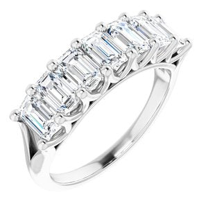 Platinum 2 1/2 CTW Diamond Anniversary Band