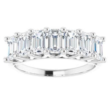 Load image into Gallery viewer, Platinum 2 1/2 CTW Diamond Anniversary Band