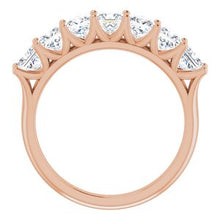Load image into Gallery viewer, 14K Rose 1 3/4 CTW Diamond Anniversary Band