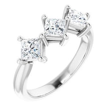 Load image into Gallery viewer, Platinum 1 1/16 CTW Diamond Anniversary Band