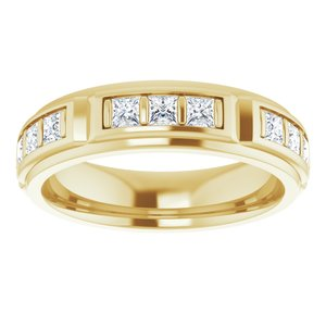 14K Yellow 1 3/4 CTW Diamond Ring