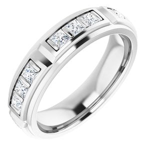 14K White 1 3/4 CTW Diamond Ring