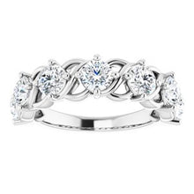 Load image into Gallery viewer, 14K White 1 7/8 CTW Diamond Anniversary Band