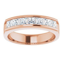 Load image into Gallery viewer, 14K Rose 1 3/8 CTW Diamond Ring
