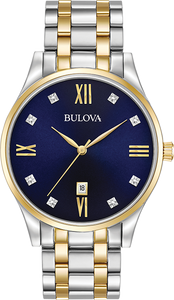 Bulova 98D130 Men's Diamond Watch