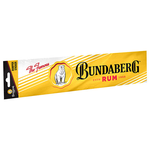 Bundaberg Rum Bumper Sticker