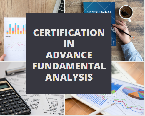 ADVANCE COURSE ON FUNDAMNETAL ANALYSIS - DFM Institute