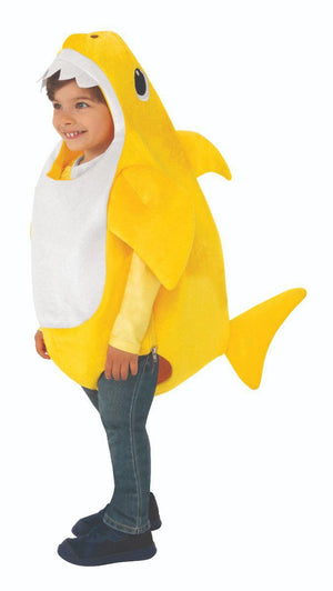 Rubies Kids Daddy Shark Costume with Sound Chip