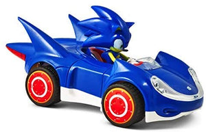 Sonic the Hedgehog All Star Racing Pull Back Action Car Figure Gift Toy Kid Game