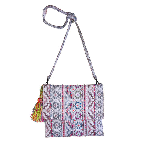 Geo Pattern Crossbody