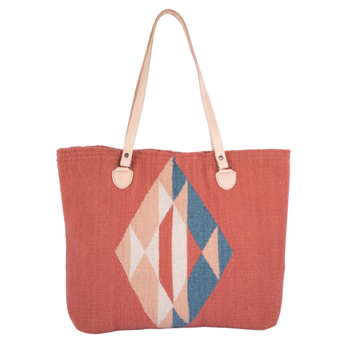 Diamond + Rose Tote