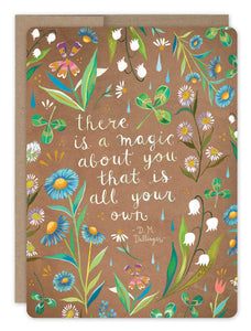 Magic About You Card