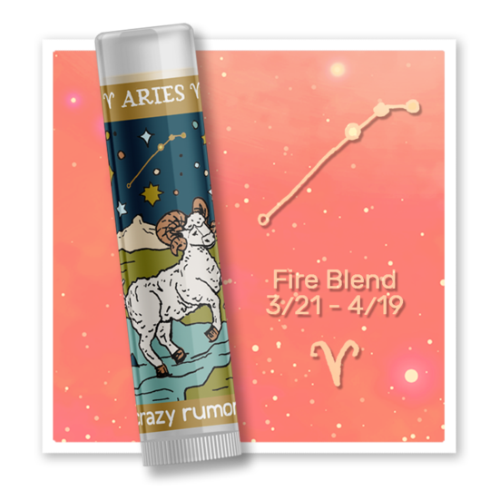 Aries - Fire Blend Lip Balm