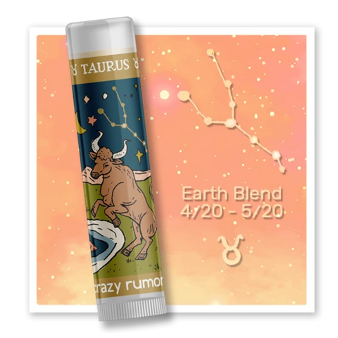 Taurus - Earth Blend Lip Balm