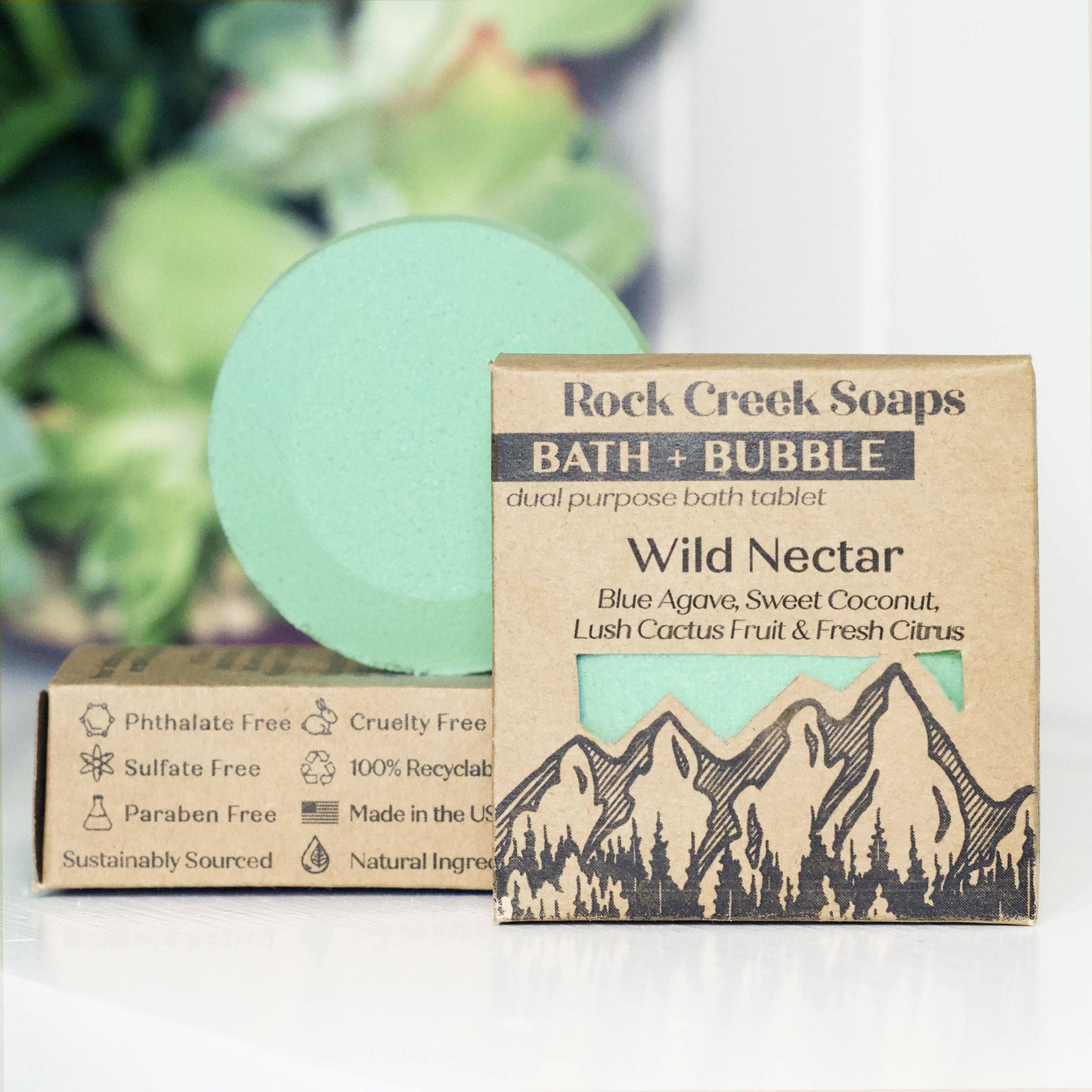 Bath Bomb | Wild Nectar | BATH + BUBBLE