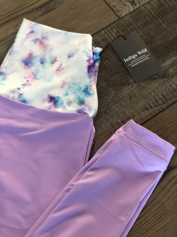 Lavender dream active pants