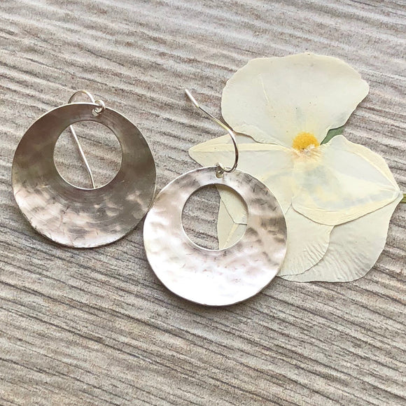 Clay - Handmade Sterling Silver Earrings