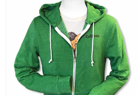 Green California Bear Sweatshirt