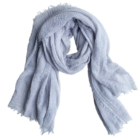 Classic Soft Solid Scarf - Gray