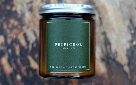 Petrichor Soy Candle