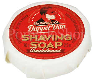 Dapper Dan Shaving Soap Sandalwood