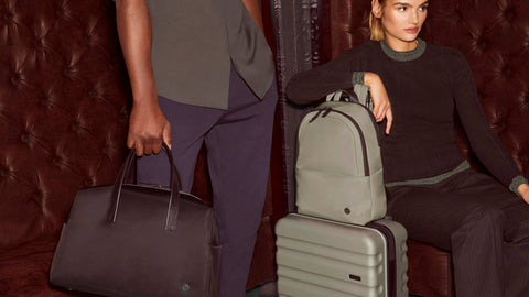 Chelsea daypack, Chelsea overnight bag and Clifton luggage