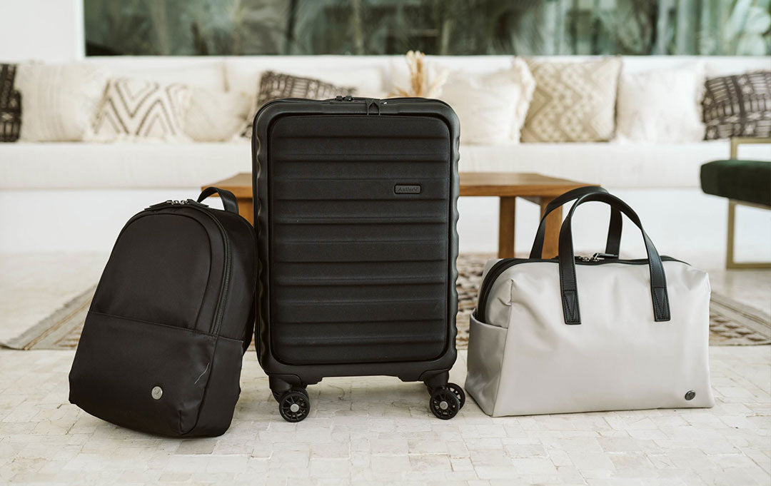 Antler Clifton suitcases and Chelsea travel bags