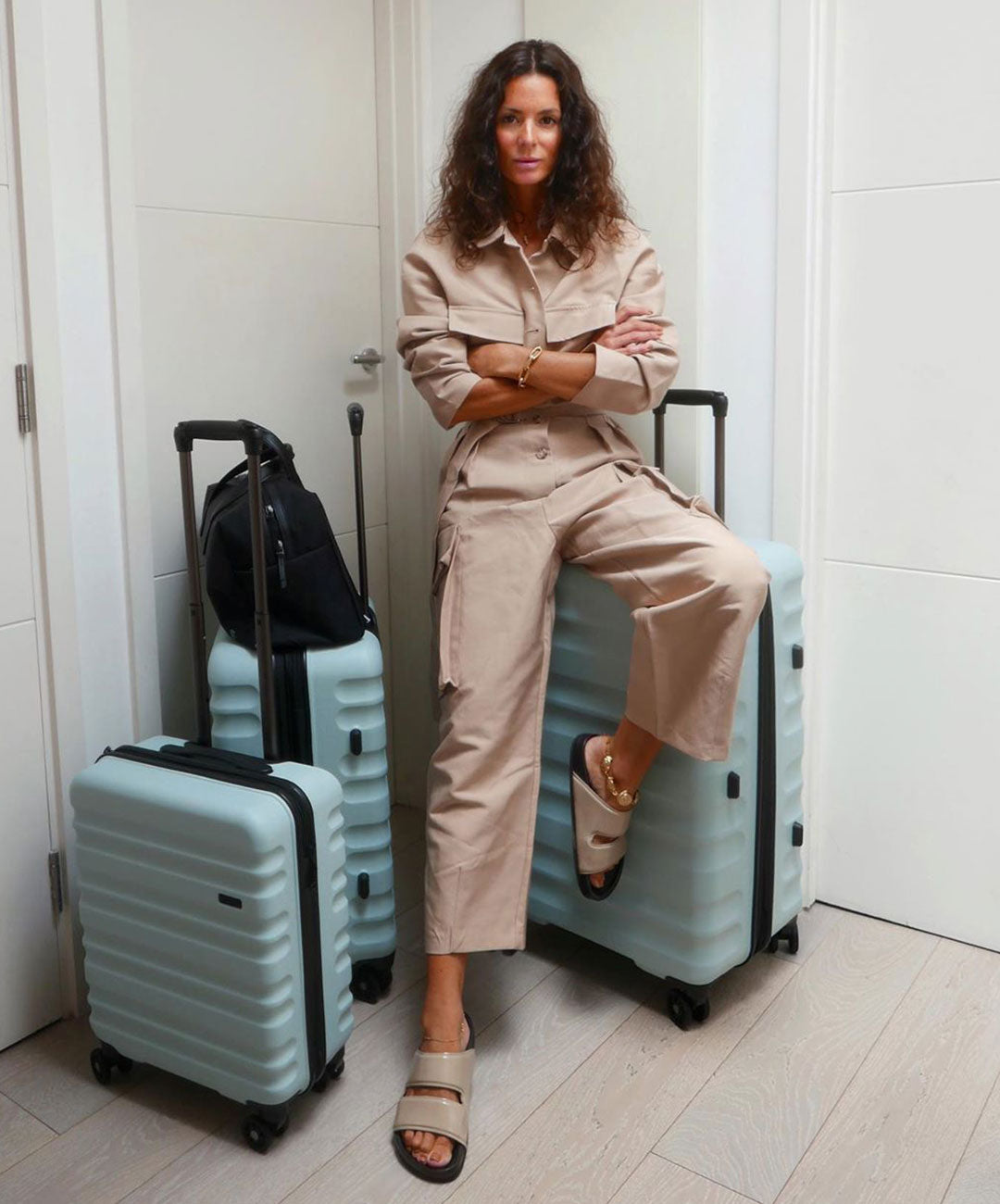 Antler Clifton set of three suitcases