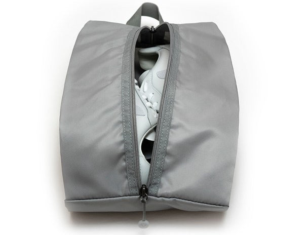 Chelsea Shoe Bag - Grey - Interior